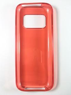 מגן סיליקון אונברסלי ביג סייז BIG SIZE בצבע אדום