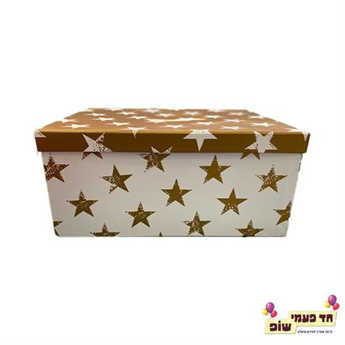 קופסא כוכבים זהב מידה 6