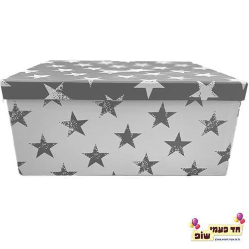 קופסא כוכבים כסף מידה 10