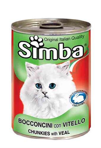 שימור סימבה חתול -בשר
