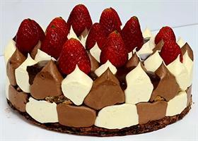 Chocolate double cake - דואט שוקולד (פרווה)