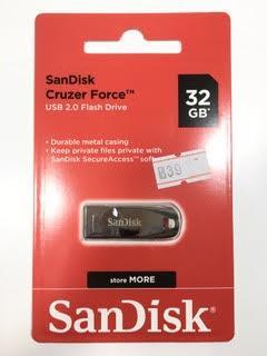 דיסק און קי 32 ג'יגה ברזל SanDisk