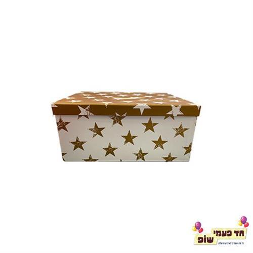 קופסא כוכבים זהב מידה 3