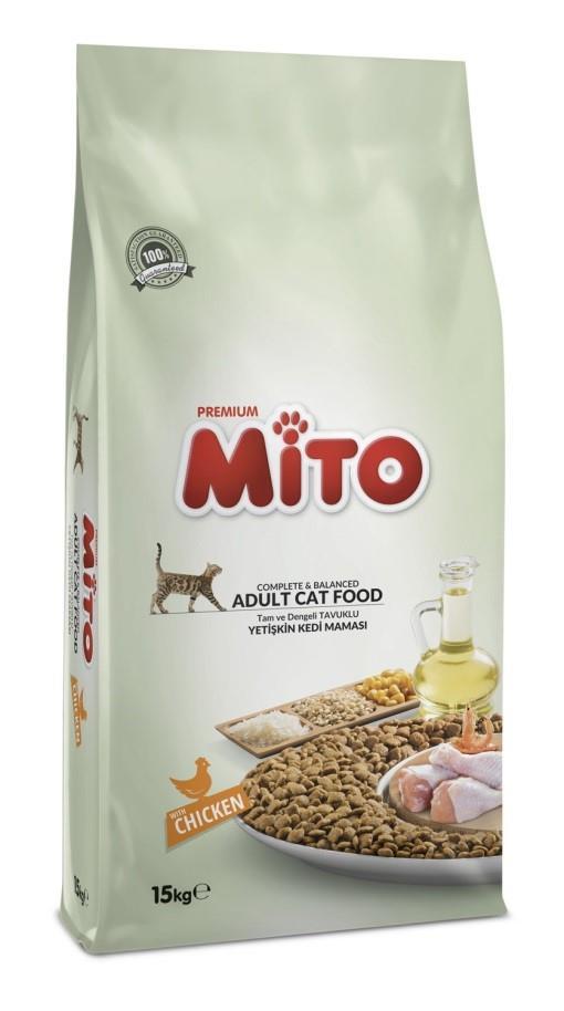 """מיטו לחתולים 15 ק""""ג Mito"""