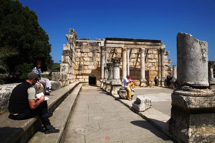Support Israel and get this picture: Capernaum, Sea of Galilee