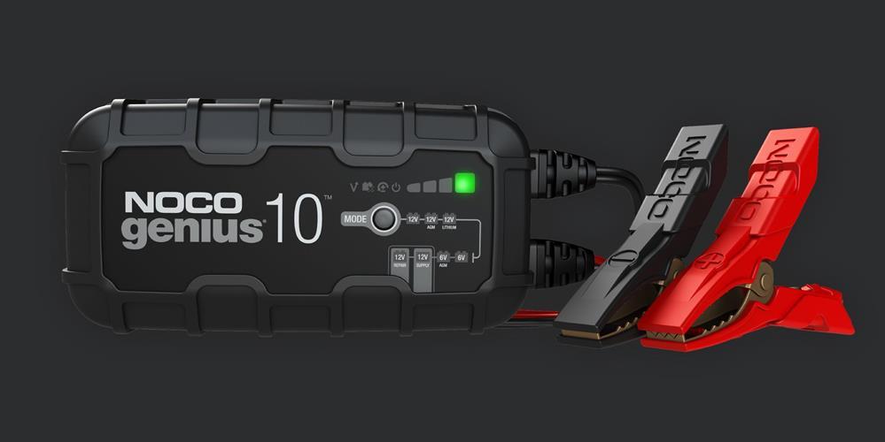 מטען מצברים 10 אמפר NOCO GENIUS 10