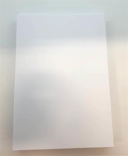 בריסטול לבן A4/1/8 חבילת ג'מבו חיסכון