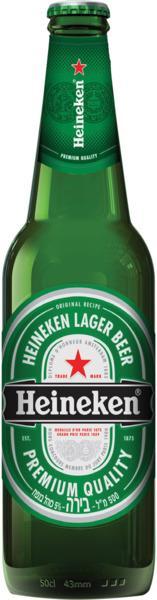 """בירה היינקן 500מ""""ל חוזר (כולל פיקדון ) 1/20"""