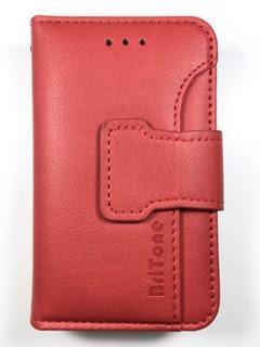 מגן ספר BriTone לנוקיה NOKIA C2 בצבע אדום