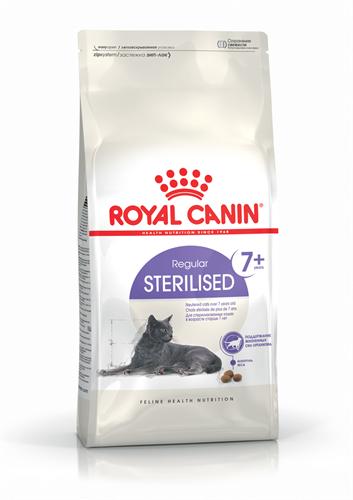 """רויאל קנין סטריילייזד 7+ מזון לחתול בוגר מעוקר מעל גיל 7  3.5 ק""""ג"""