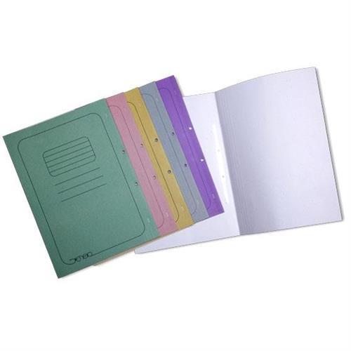 תיק מנילה קרטון 25 יחידות במגוון צבעים