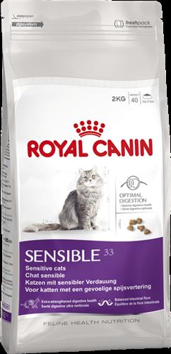 """מזון לחתול רגיש סנסיבל 4 ק""""ג"""