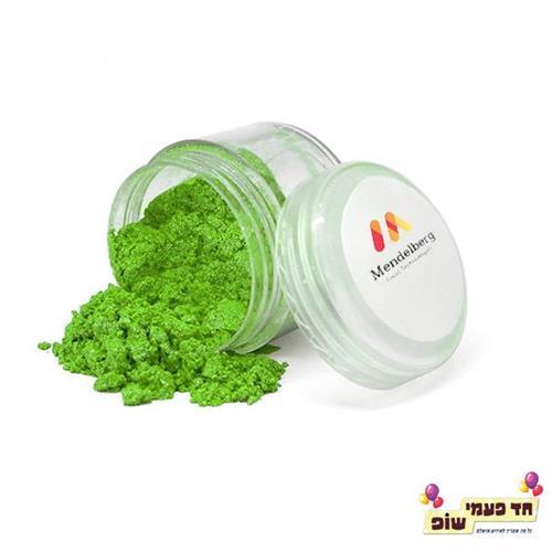 אבקת נצנצים מנדלברג ירוק