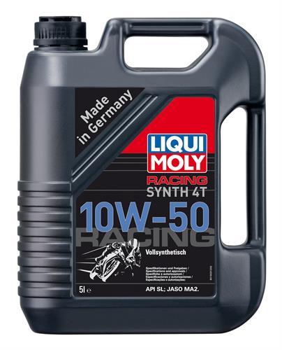 שמן לאופנוע 10W50 סנטטי 1 ליטר LM