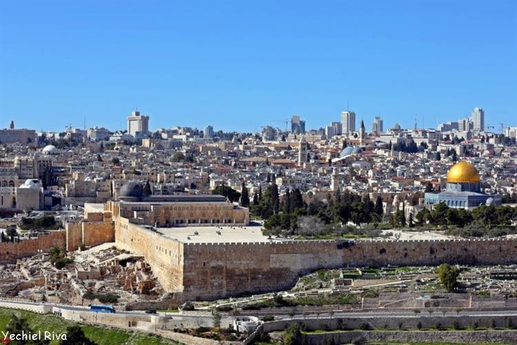 Support Israel and get this picture: Mount of Olives, Jerusalem