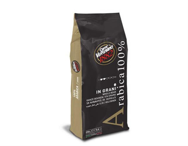 פולי קפה 100% ערביקה 250 גרם 100% ARABICA COFFEE BEANS