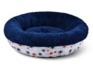 מיטת פתיתי שלג עגולה לכלב/חתול מידה s 45x45x16