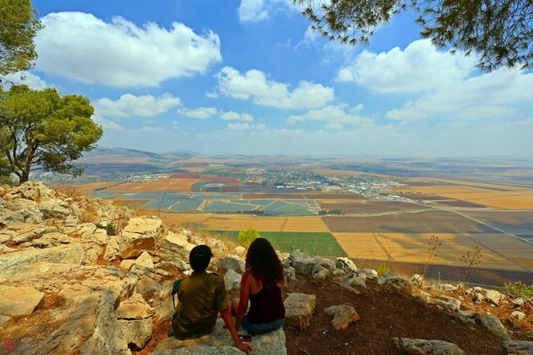 Support Israel and get this picture: Mount Gilboa