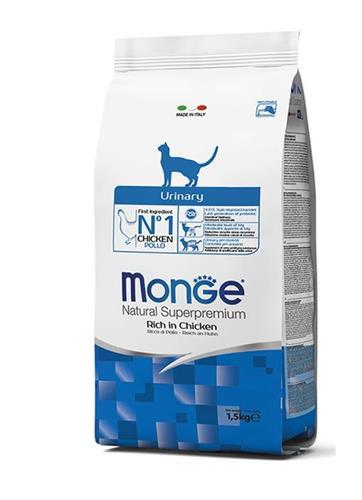 """8009470004916 מזון יבש לחתולים עם בעיות בדרכי השתן 10 ק""""ג Monge"""