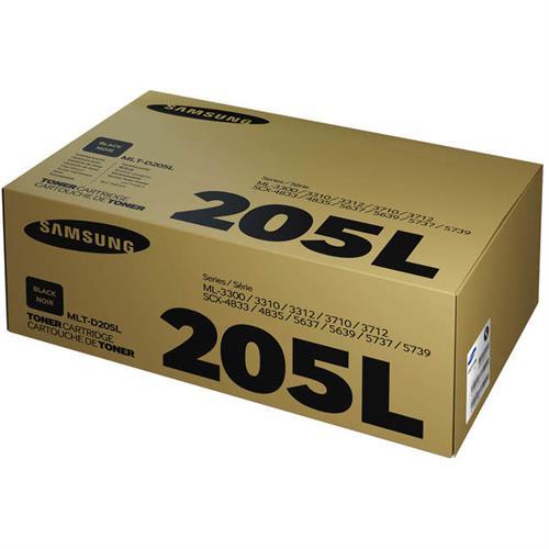 טונר מקוריMLT-D205L לדגם סמסונג ML-3310,3710 SCX-4833,5637,5737
