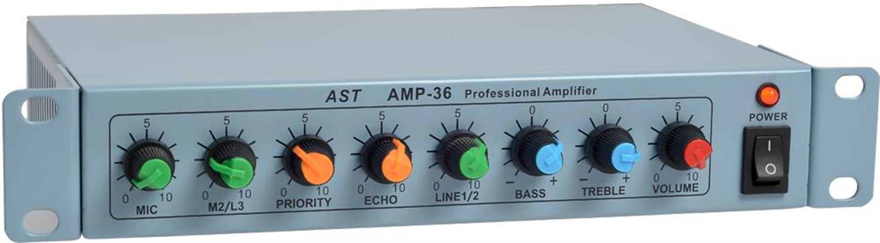 מגבר הספק AST AMP-36