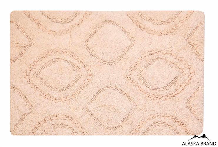 שטיח אמבטיה נטע כביס 100% כותנה - פודרה