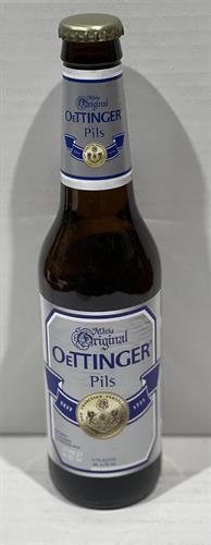 """בירה אותינגר פילס בקבוק 330 מ""""ל ארגז 24 יח'"""