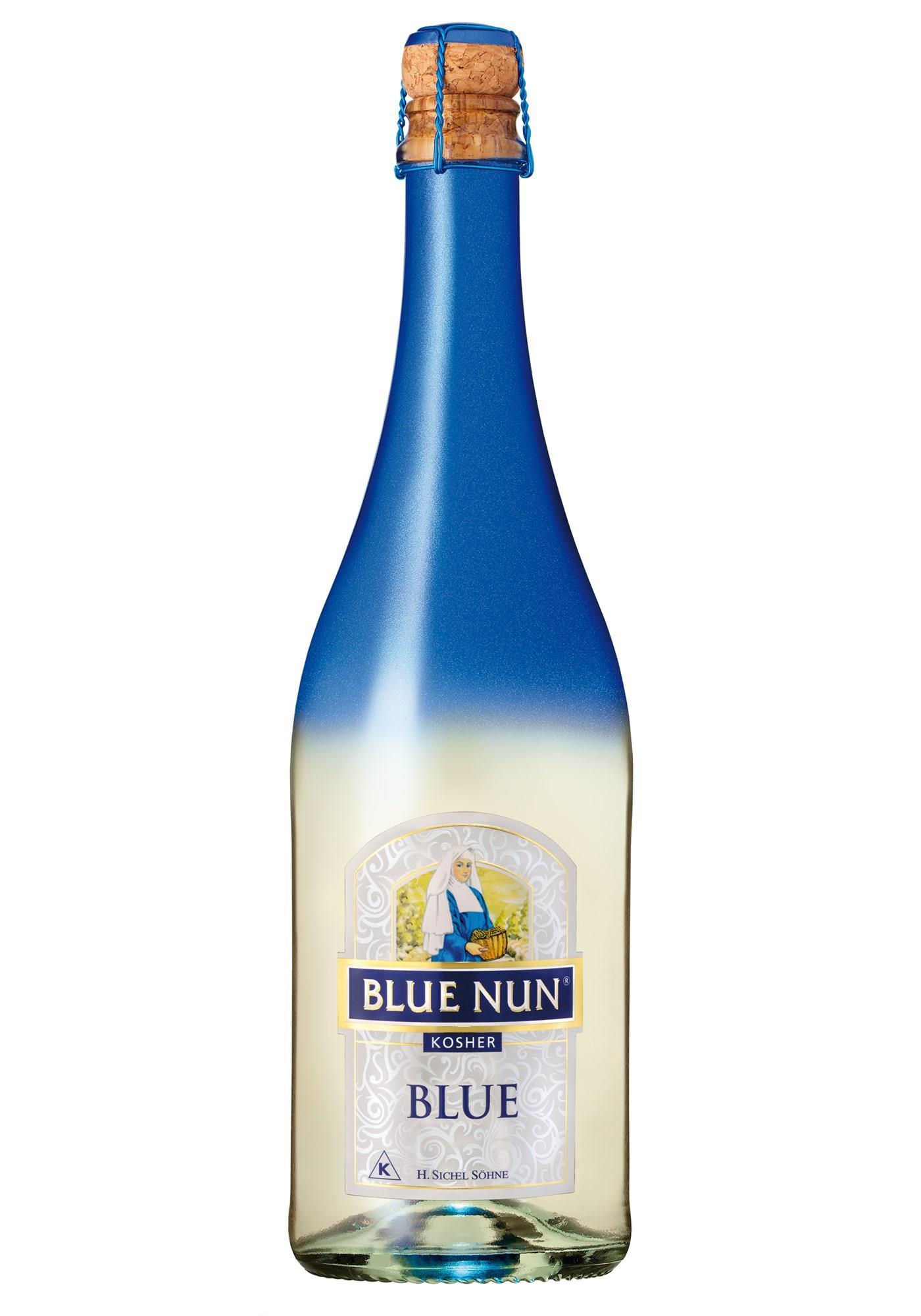 """בלו נאן מבעבע כחול  750 מ""""ל"""