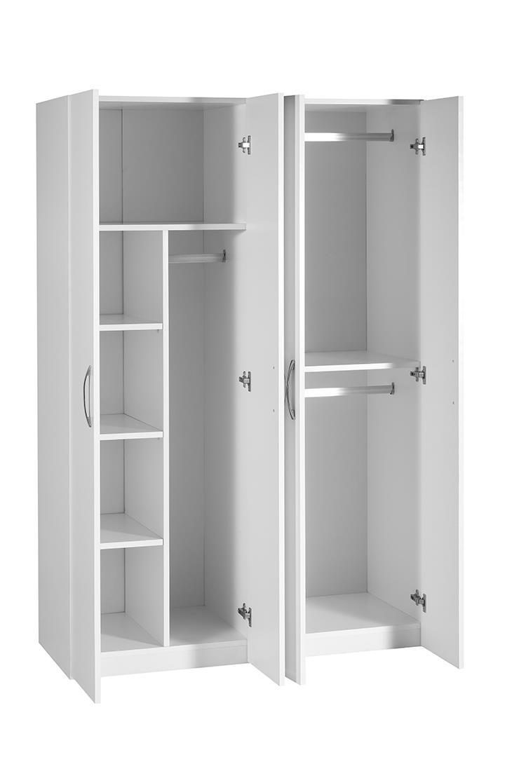 ארון 4 דלתות תליה ומדפים דגם G4