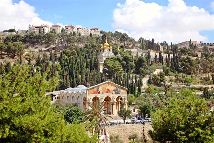 Support Israel and get this picture: The Visitation Church