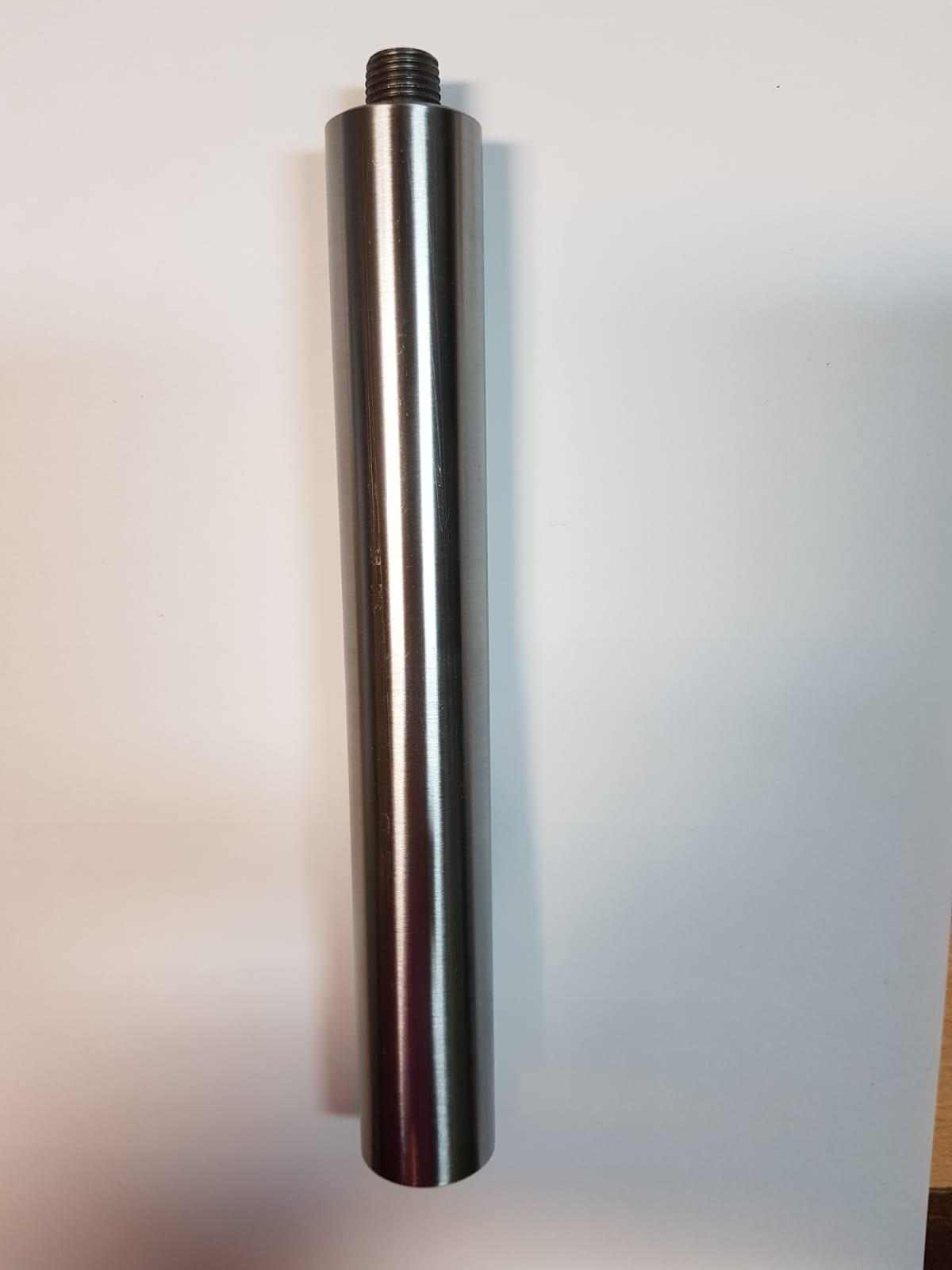 קנה ארוך 25 ממ לתומך סכין למחרטת עץ
