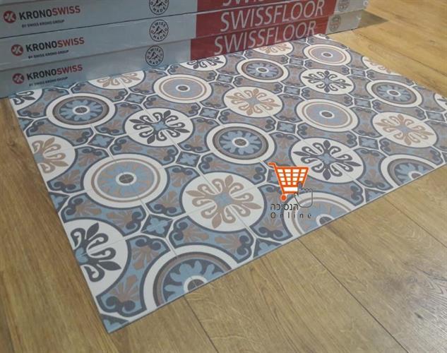 שטיח למטבח  פי וי סי דגם -05