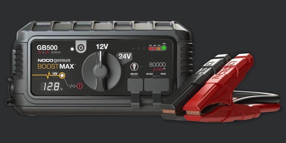 בוסטר הנעה 20000 אמפר NOCO-GB500