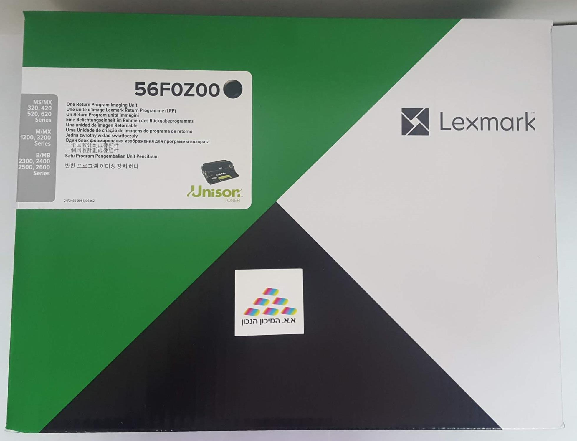 תוף מקורי 56F0Z00 לקסמרק MX/MS-421,521,522,622 B/MB2338,2442 60K
