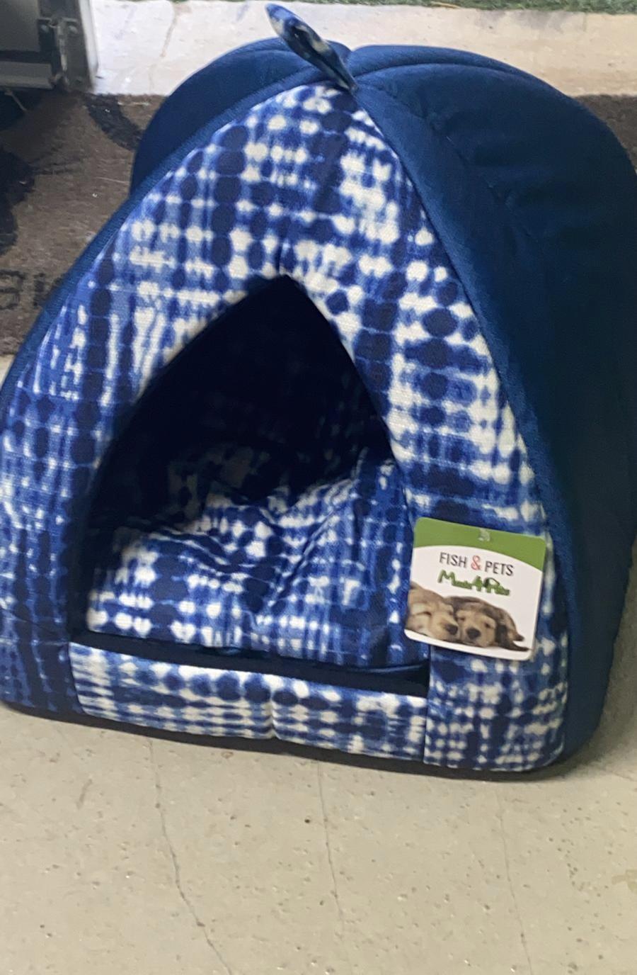 מיטת איגלו לכלב/ חתול מידה L