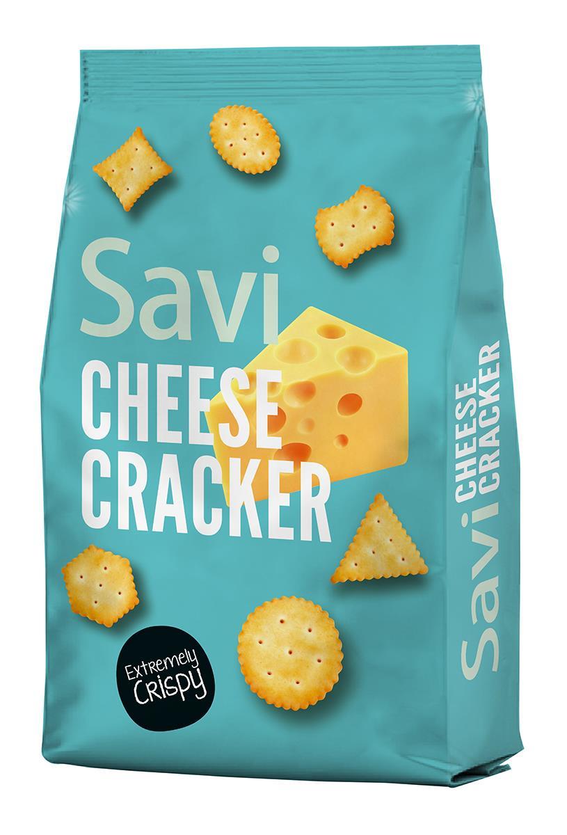 קרקרים  בטעם גבינה 400 גרם  SAVI CHEESE