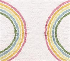 שטיח קשת בענן לחדרי ילדים - 3 גדלים