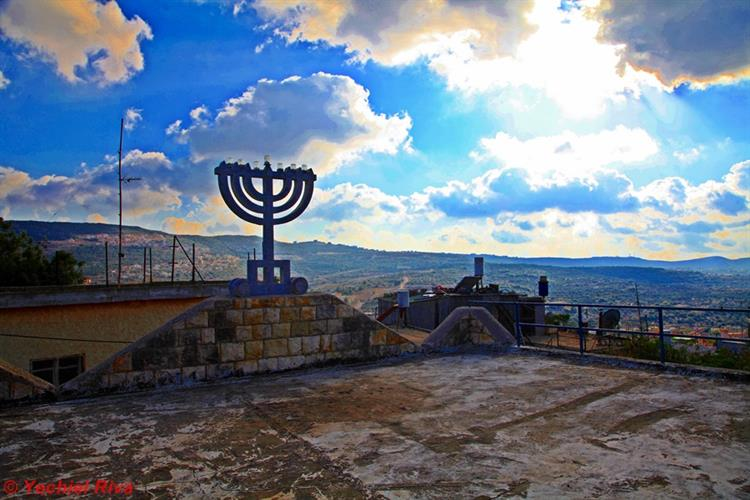 Support Israel and get this picture: A Synagogue at Peki'in