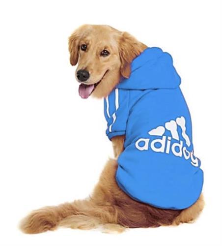 ADIDOG קפוצ׳ון לכלב מידה XXL לגזע מיני בינוני 6-9 קג צבע כחול