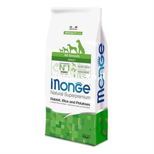 "MONGE-אדולט ארנב אורז ותפו""א 12 קג all breeds"