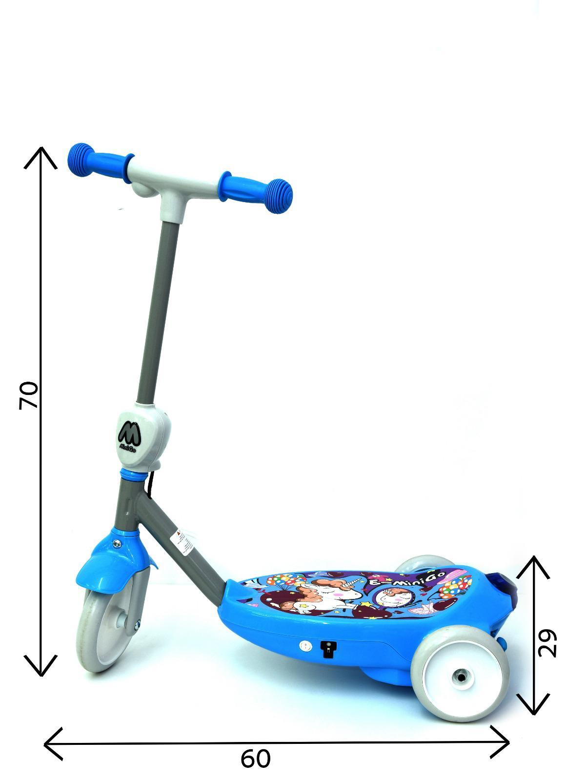 קורקינט E-MINIGO - כחול