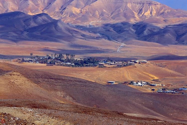 Support Israel and get this picture: Kfar Hanokdim, Judaean Desert