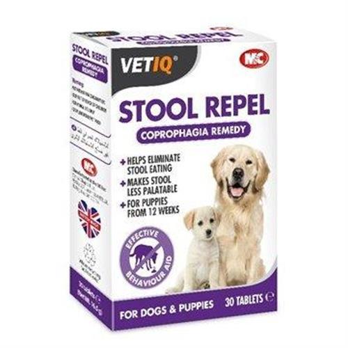 טבליות נגד אכילת צואה לכלבים (30 יחידות)