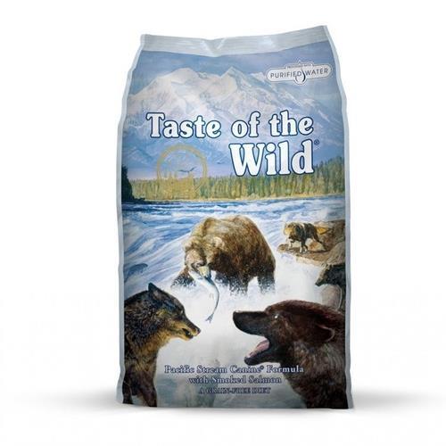 """074198612253 מזון יבש לכלבים מבוסס דגים 12.2 ק""""ג Taste Of The Wild"""