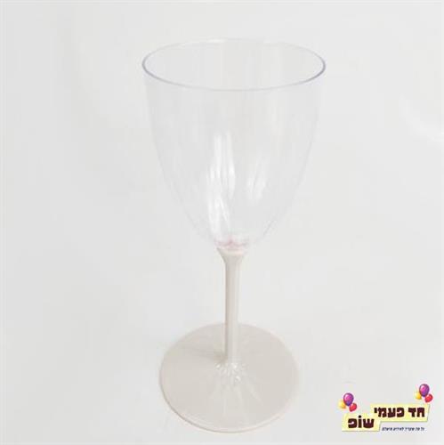 כוסות יין רגל שמפניה
