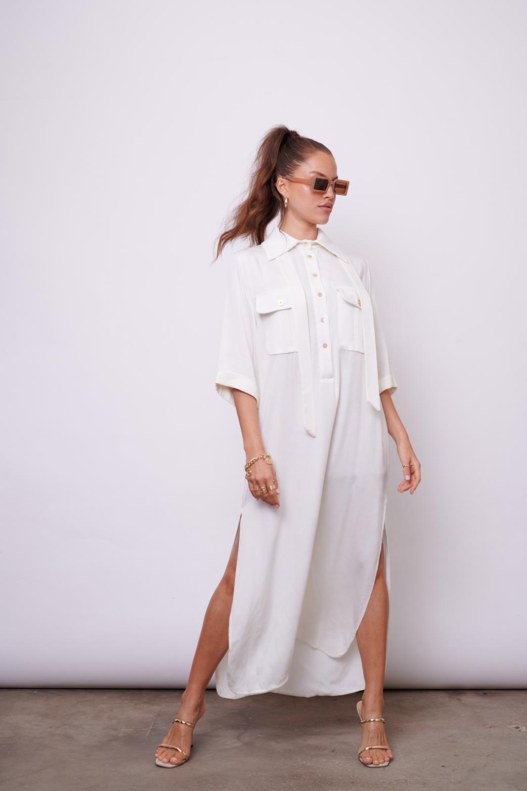 שמלת לקסוס לבן