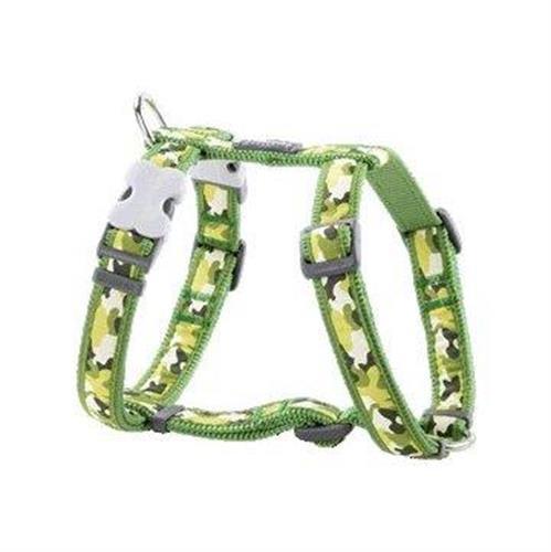 רתמה לכלב L ירוק צבאי