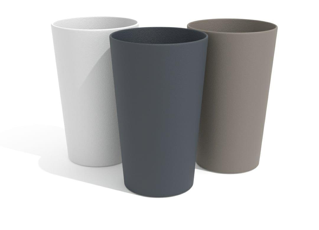 """כוס פלסטיק 330 מ""""ל תמה"""