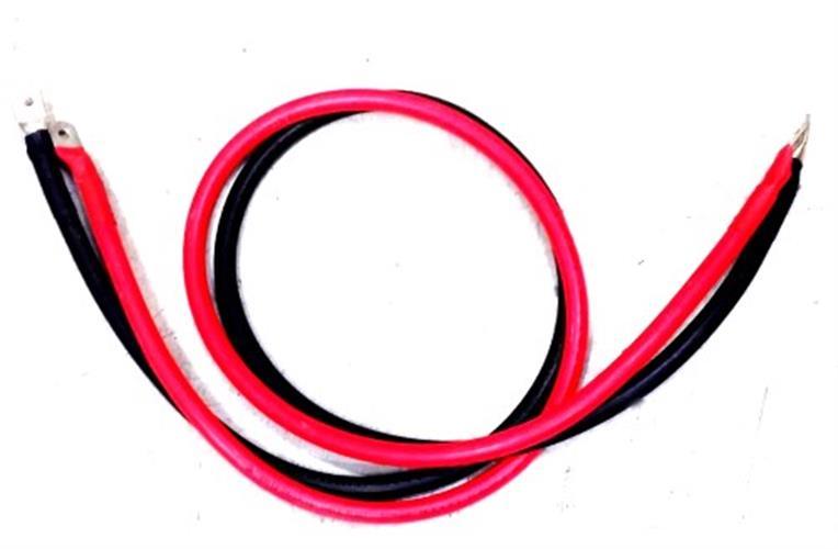 """זוג כבלים 50 מ""""מ למערכות סולאריות לחיבור בין הממיר למצבר"""