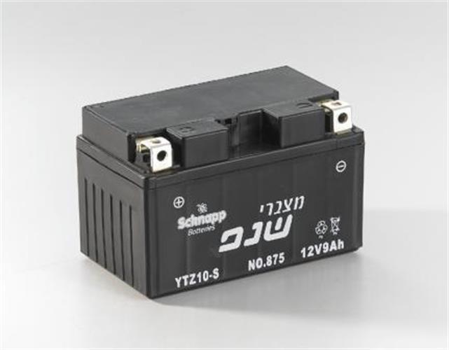 מצבר לאופנוע 8.6 אמפר ytz10-s